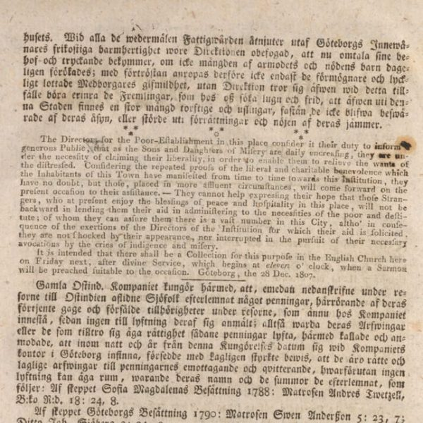 Newspaper clippings are a useful source in Swedish genealogy.