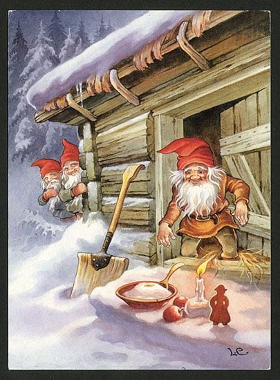 The Christmas pudding for the nisse is also a part of Swedish Christmas food.