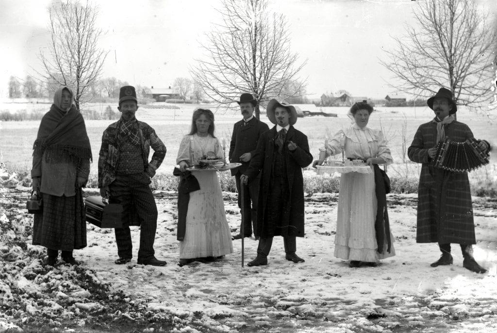 Lusse i Järpås.  Fotografering 1890 - 1905 Fotograf Victorin, Carl