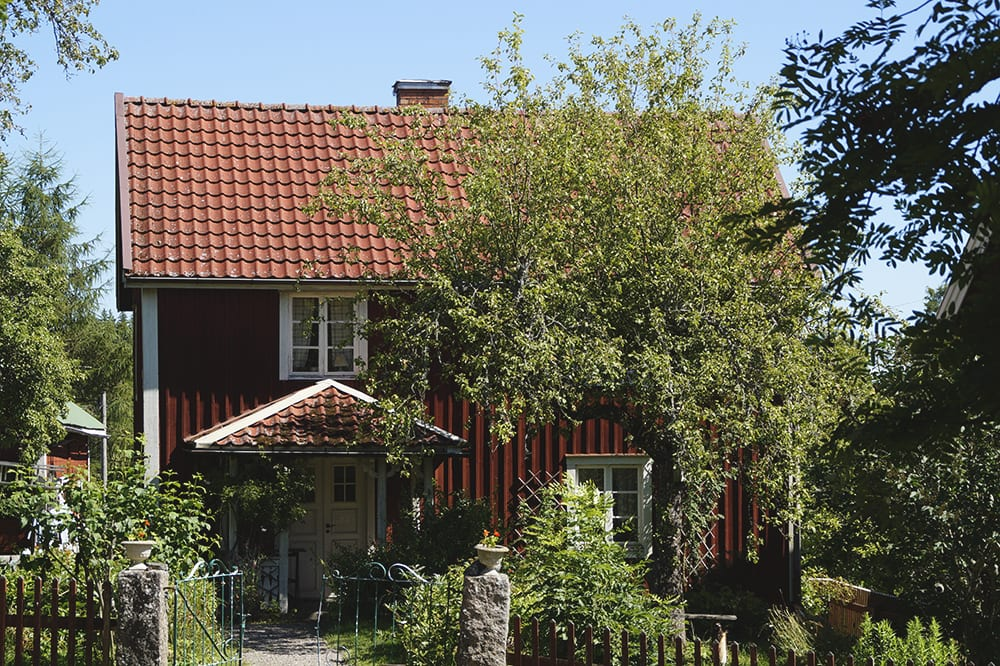 One of the houses in Småland where the book series Emil of Lönneberga by Astrid Lindgren plays out.