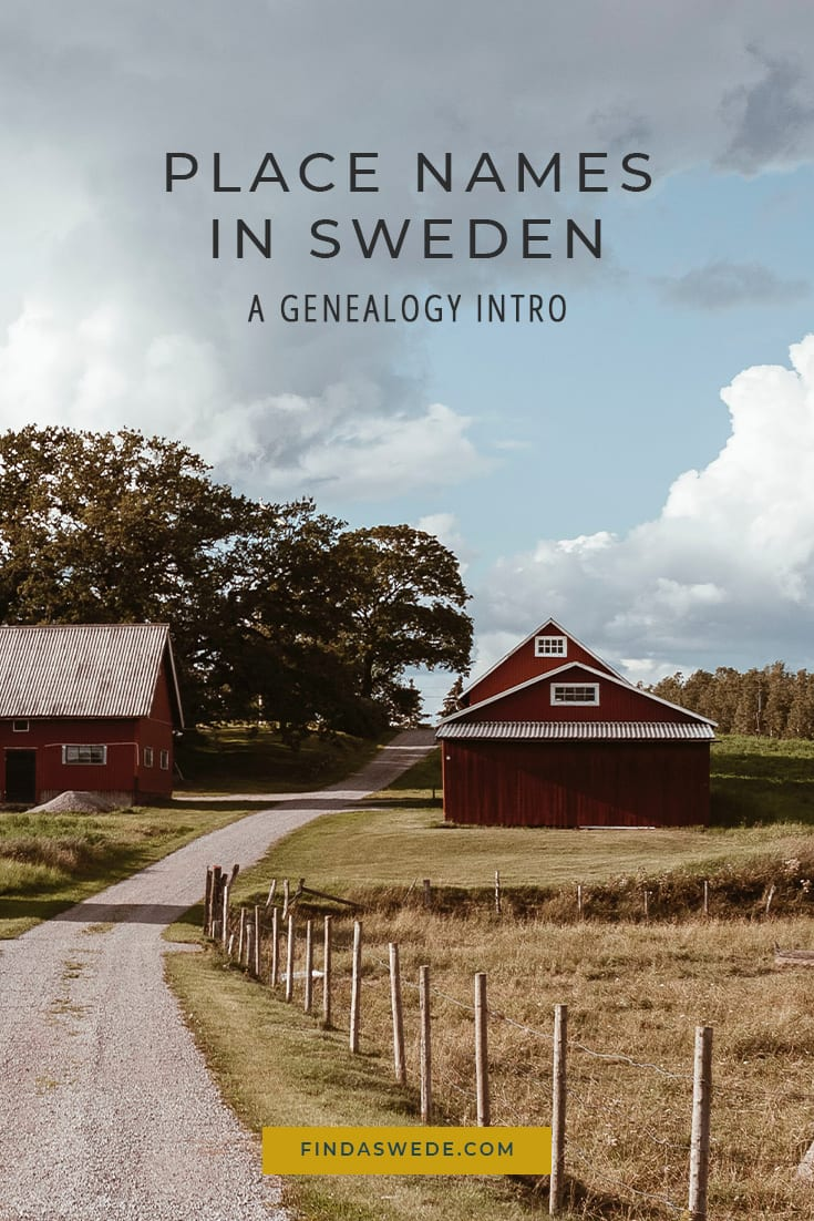 Place Names in Sweden - A Genealogy Intro