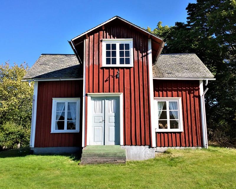 A Swedish croft.